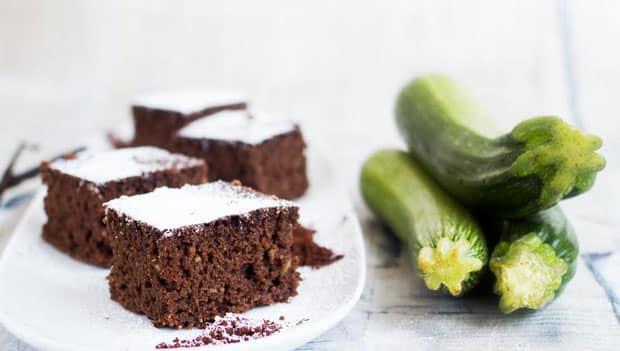 Gâteau au Chocolat et Courgettes Weight Watchers