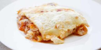 Lasagnes au porc et poivron avec Thermomix