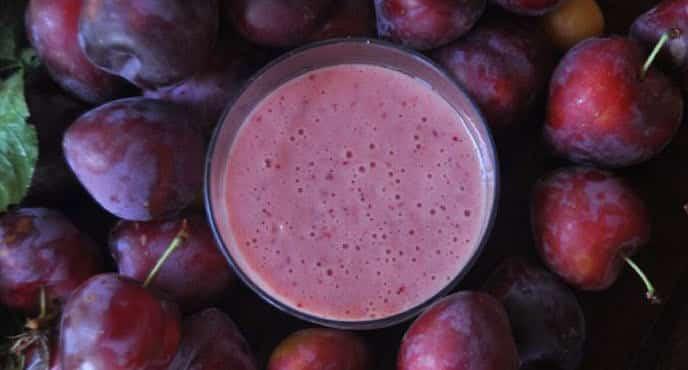 Milk shake de prunes avec Thermomix