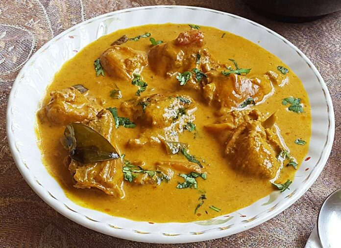 Poulet au curry et au lait de coco Weight Watchers