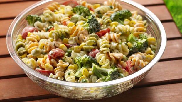 Salade de pâtes à la vinaigrette à 0 point Weight Watchers