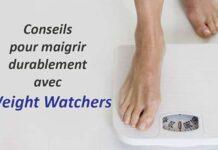 Conseils pour maigrir durablement avec Weight Watchers