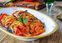Gratin d'aubergines et tomates léger