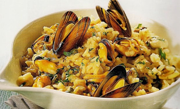 Risotto de Moules Weight Watchers