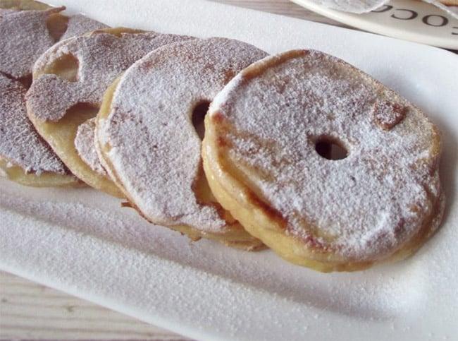 Beignets aux pommes Weight Watchers