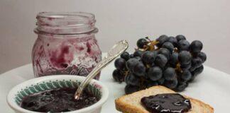 Confiture au raisins rouges avec Thermomix