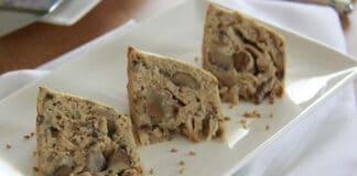Gâteau au thon et aux champignons avec Thermomix