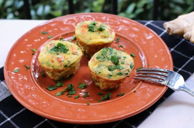 Muffins au saumon Weight Watchers