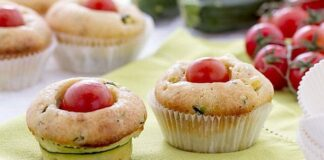 Muffins aux tomates cerises Weight Watchers