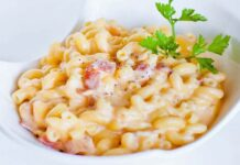 Macaronis au fromage et bacon au Thermomix