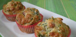 Muffins aux courgettes, thym et parmesan Weight Watchers