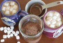 Préparation pour chocolat chaud avec Thermomix