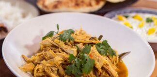 Dinde au curry avec Cookéo