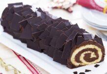 Bûche au chocolat avec Thermomix