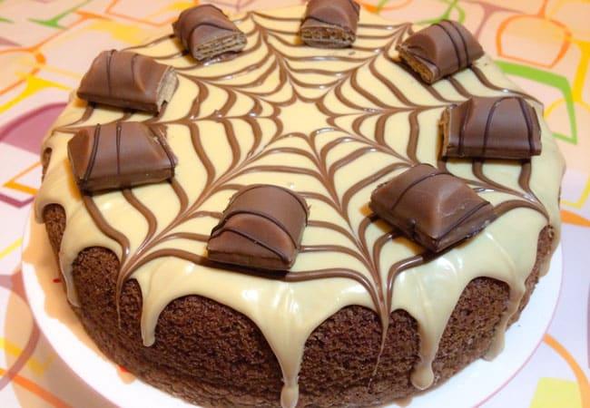 Gâteau Kinder bueno au Thermomix
