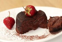 Moelleux au chocolat léger Weight Watchers