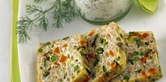 Terrine de macédoine de légumes au thon Weight Watchers