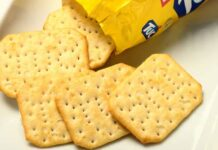 Biscuits salés TUC au Thermomix