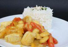 Aiguillette de poulet au curry Weight Watchers
