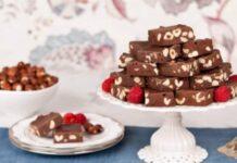 Fudge au chocolat et aux noisettes au Thermomix