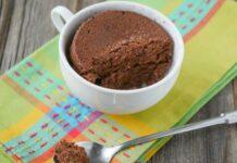 Mug cake chocolat léger Weight Watchers