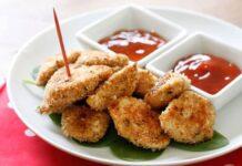 Nuggets de poulet légères