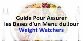 Guide pour assurer les bases d'un menu du jour