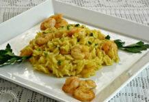 Risotto aux crevettes et au curry WW
