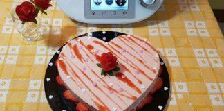 Bavarois aux fraises et spéculoos avec Thermomix
