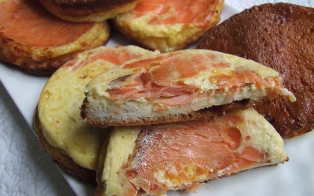 croque-quiche au saumon WW