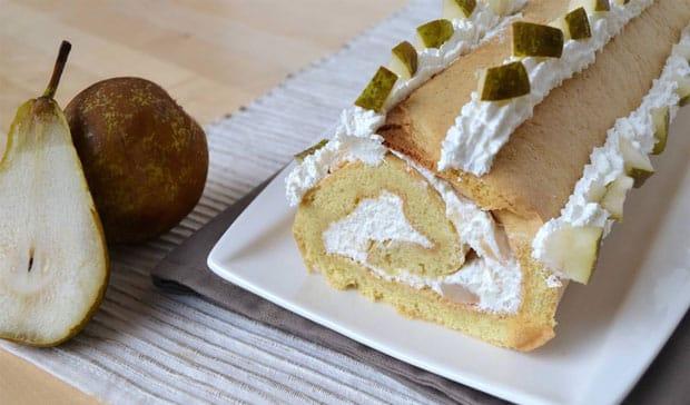 gâteau aux poires et à la ricotta avec Thermomix