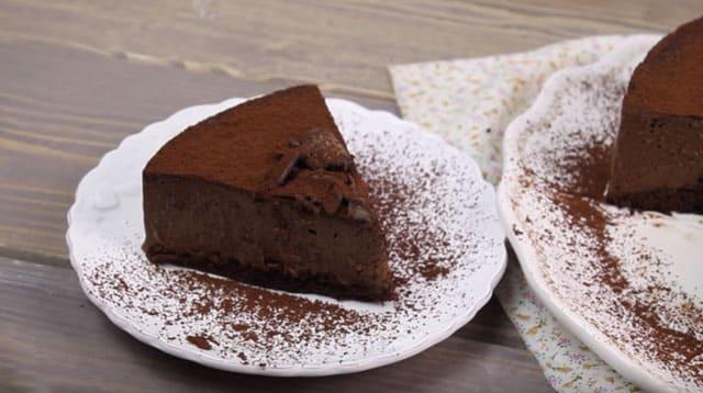 Gâteau à la mousse au chocolat avec Thermomix