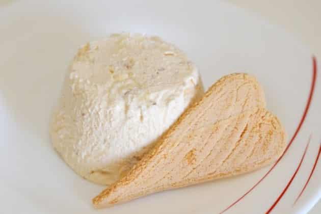 parfait glacé au nougat avec Thermomix