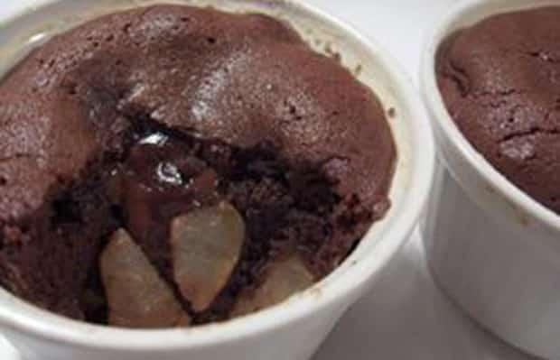 Clafoutis chocolat et pommes WW
