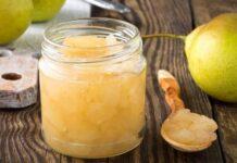 Confiture de poires au gingembre avec Thermomix