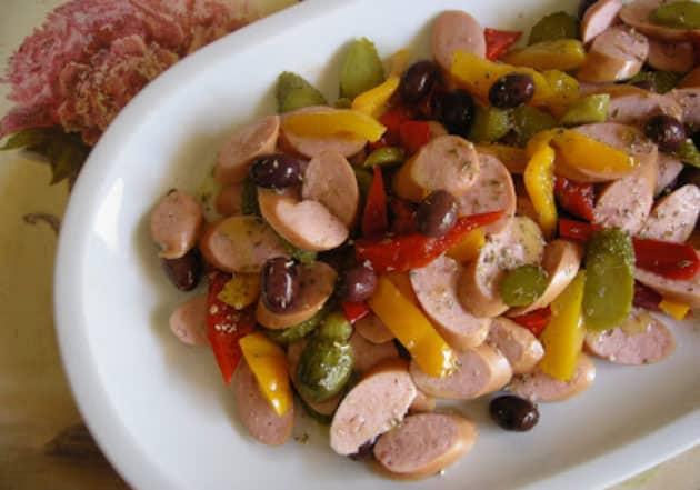Salade aux saucisses de Francfort WW