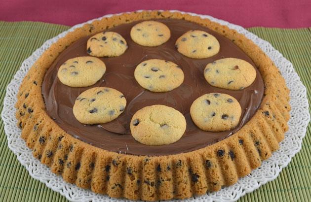 Tarte renversée façon cookie au Thermomix
