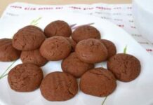 biscuits express au nutelle avec Thermomix