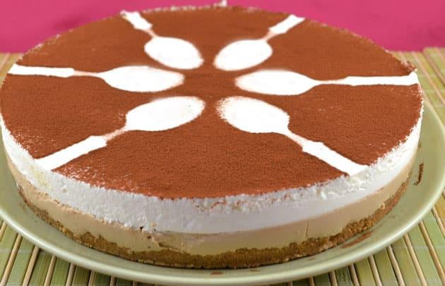Cheesecake Cappuccino au Thermomix