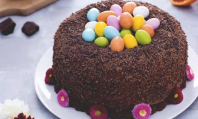 Gâteau nid de Pâques au Thermomix