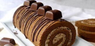 gâteau roulé au café avec Thermomix