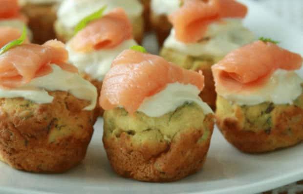 Mini-muffins au saumon fumé avec Thermomix