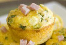 muffins aux poireaux et jambon WW