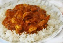poulet Massala WW