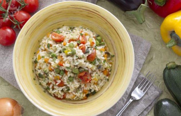 risotto aux légumes WW