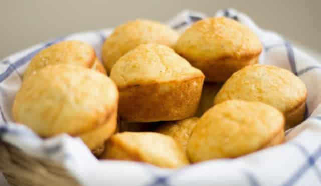 Muffins au parmesan avec Thermomix