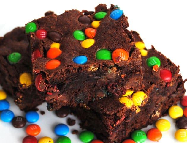 brownies aux M&M's avec Thermomix