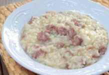 risotto aux saucisses avec Thermomix