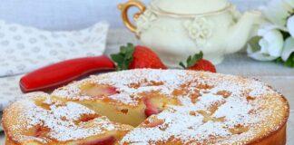 Clafoutis aux fraises avec Thermomix