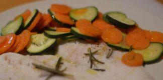 Filets de poisson et ses légumes au Varoma